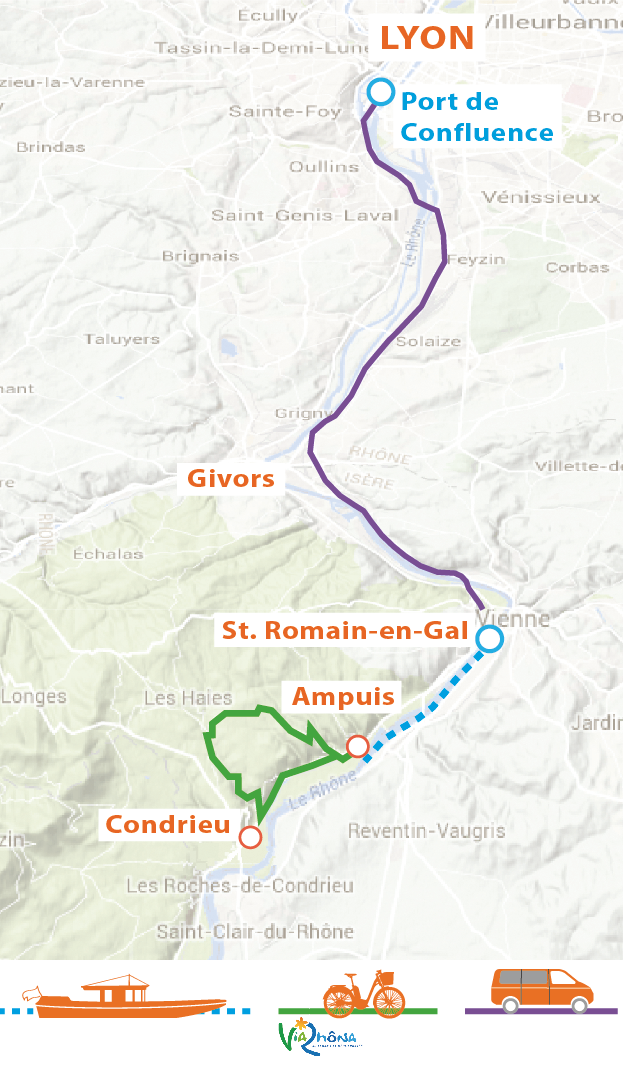 Croisière Rhône et Saône