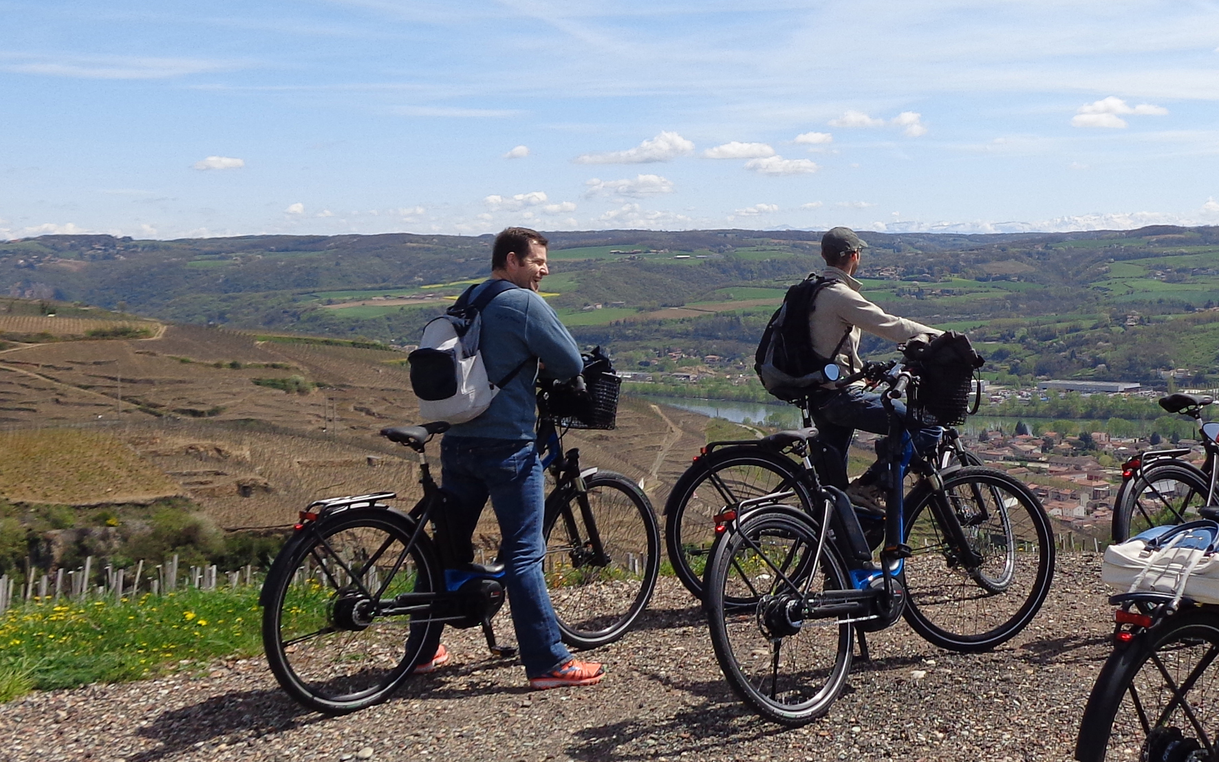 Croisière Rhône et Saône - Le vélo